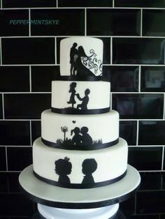 Black White Hochzeitstorte Wedding Deluxe Ihr Hochzeitsplaner