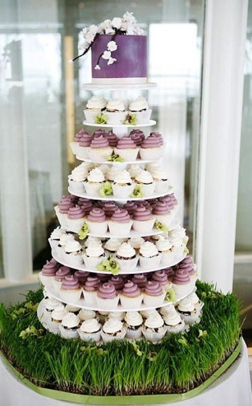 Cupcake Hochzeitstorte – Wedding Deluxe – Ihr Hochzeitsplaner für ...